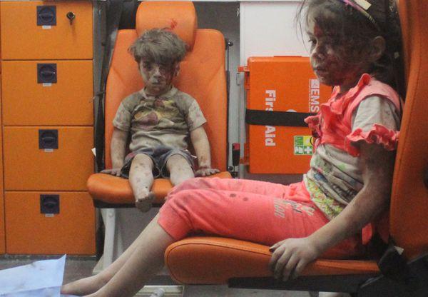 El triste presente de Omran, el niño que retrató la guerra en Siria