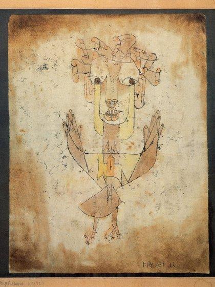 """""""Angelus Novus"""" (1920) de Paul Klee"""