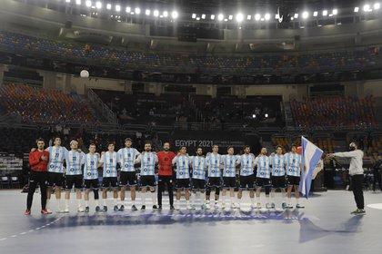 Argentina sumó sus primeros 2 puntos en el Mundial (REUTERS/Mohamed Abd El Ghany)