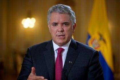 Iván Duque, presidente de Colombia (REUTERS/Luisa González)
