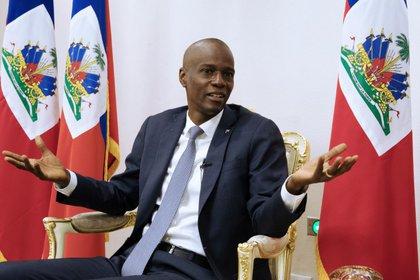 El presidente de Haití, Jovenel Moise, durante una entrevista en el Palacio Nacional de Puerto Príncipe, el 11 de enero de 2020 (REUTERS/Valerie Baeriswyl)