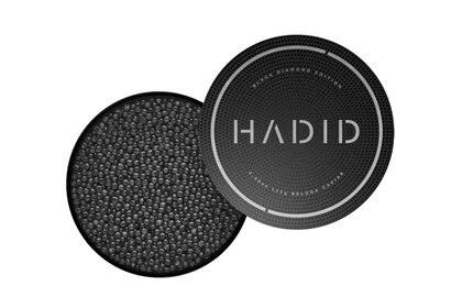 Mohamed Hadid lanzó su propia marca de caviar en los Estados Unidos, Canadá, la Unión Europea y Emiratos Árabes Unidos.