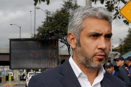 Nicolás Estupiñán, secretario de Movilidad de Bogotá. (Luis Fernanda González - Colprensa)