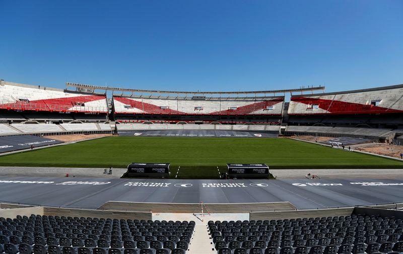 El renovado estadio Monumental se estrenará mañana con el partido entre River y Rosario Central (REUTERS/Agustín Marcarian)