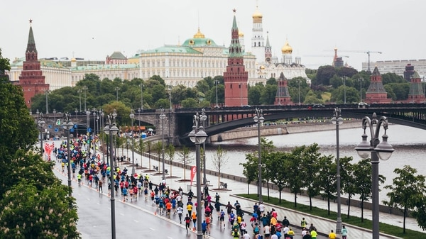 La Maratón de Moscú es la carrera más popular (Foto: Moscow Marathon)
