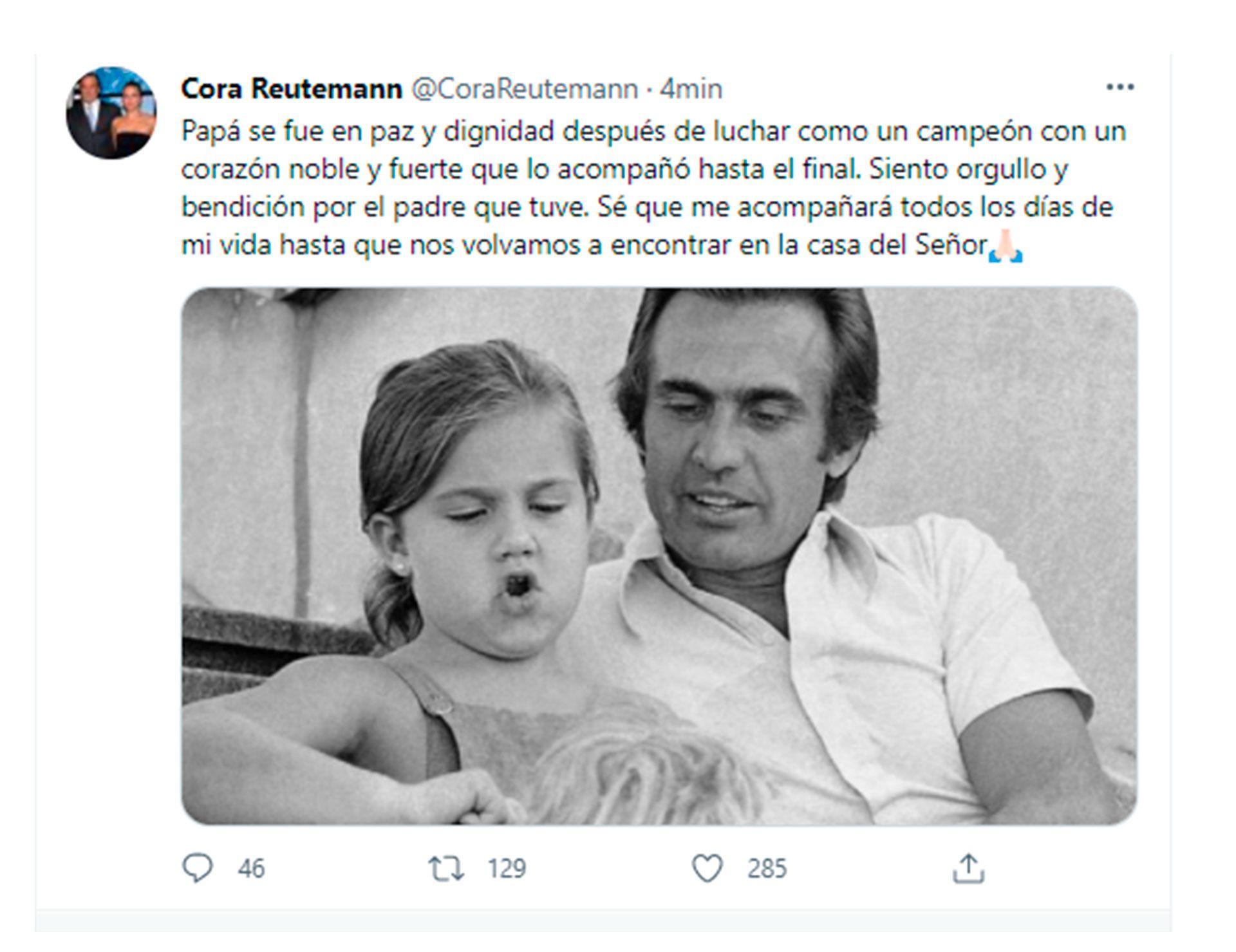 Murió Carlos Reutemann
