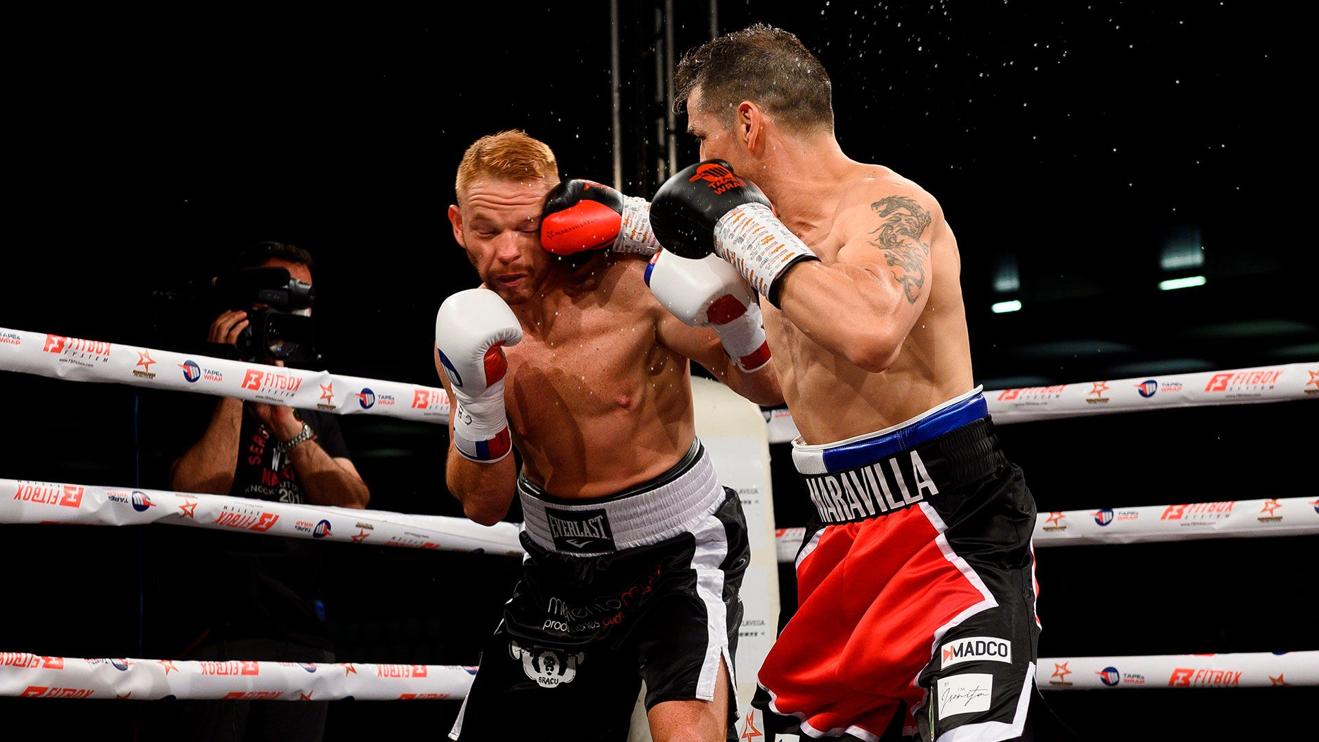 Sergio Maravilla Martinez contra el traumatologo fandiño pelea boxeo