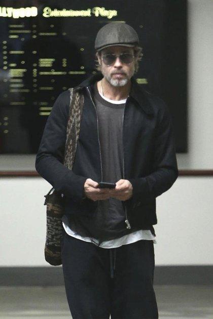 Brad Pitt hoy, con 55 años (Grosby Group)