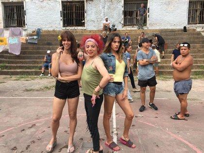 """Mariana Genesio Peña en """"El marginal"""""""