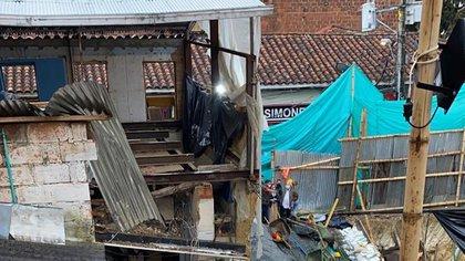 Ola invernal en Antioquia: deslizamientos e inundaciones en Marinilla dejan varias familias damnificadas