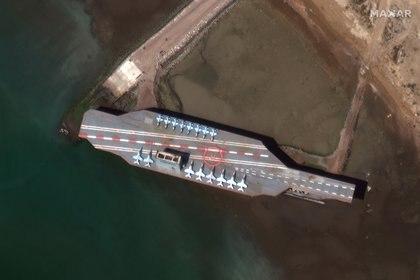 Imagen satelital: Maxar Technologies/via REUTERS