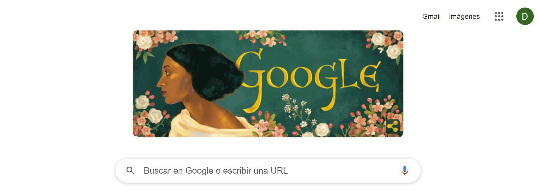 Fanny Eaton, Google Doodle
