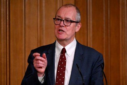 El principal consejero científico británico, Patrick Vallance (Reuters)