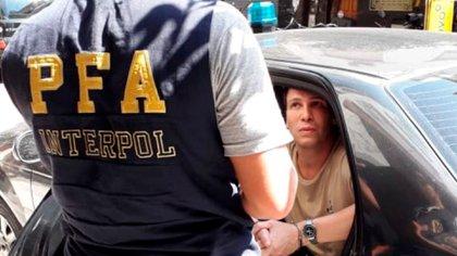 """Iván Silvio """"G"""", de 49 años de edad, oriundo de Río Negro, y de 1.90 metros de estatura. Fue capturado en un pequeño hotel de Montserrat por la división Interpol de la PFA (Foto: Archivo)"""