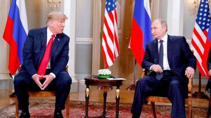 Trump y Putin, nominados al Nobel de la Paz (Reuters)