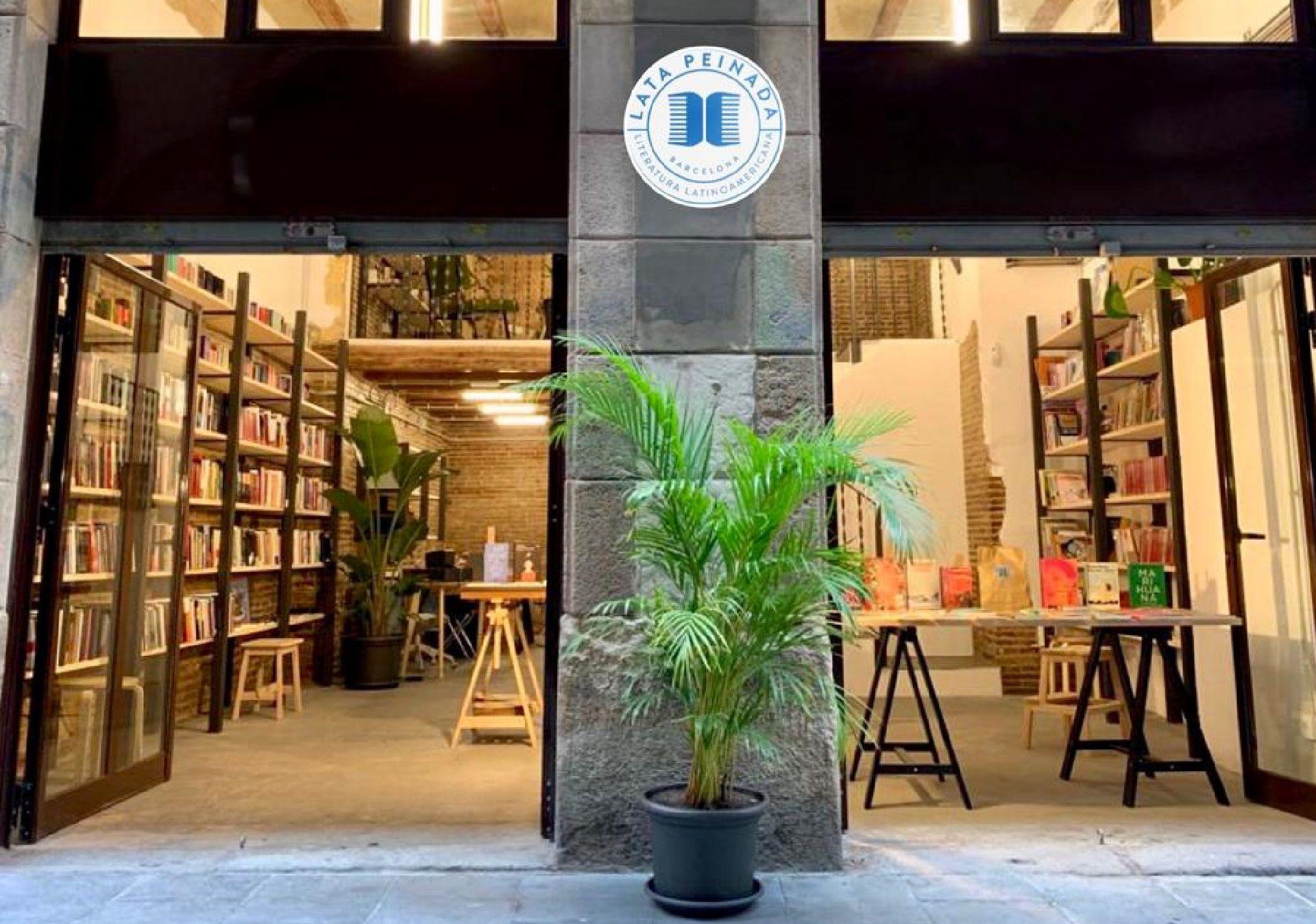 Lata Peinada, librería en Barcelona