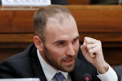En un seminario sobre finanzas internacionales en el Vaticano en febrero de 2020, Martín Guzmán adelantó su intención de renegociar con el Club de París (Reuters)