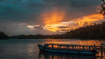 Atarder en Solentiname, Río San Juan (Foto: Instituto Nicaragüense de Turismo)