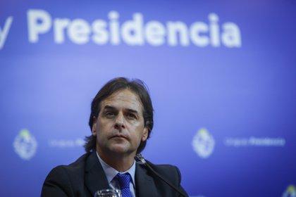 El presidente de Uruguay, Luis Lacalle Pou (EFE/Federico Anfitti/Archivo)