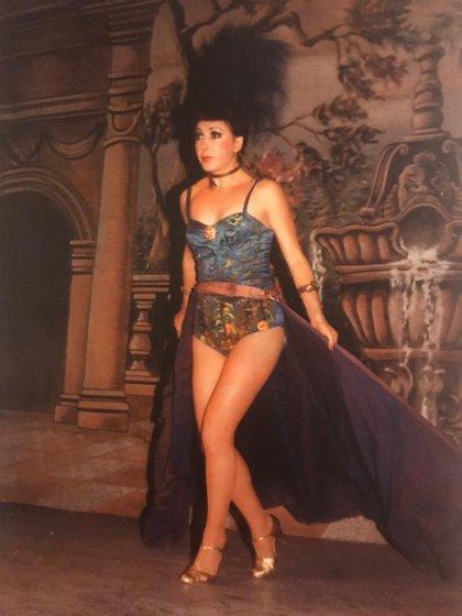 Lupe Vázquez también destacó en los escenarios de Cabaret de la Ciudad de México. (Foto: Twitter@FernandoCanek)