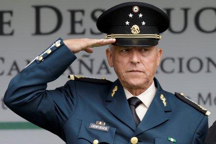 Cienfuegos Zepeda fue detenido el pasado 15 de octubre acusado de beneficiar al Cártel H-2, facción de los Beltrán Leyva (Foto: REUTERS/Henry Romero)