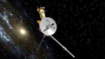 """La nave espacial Voyager 1 detecta """"zumbidos"""" fuera del Sistema Solar"""