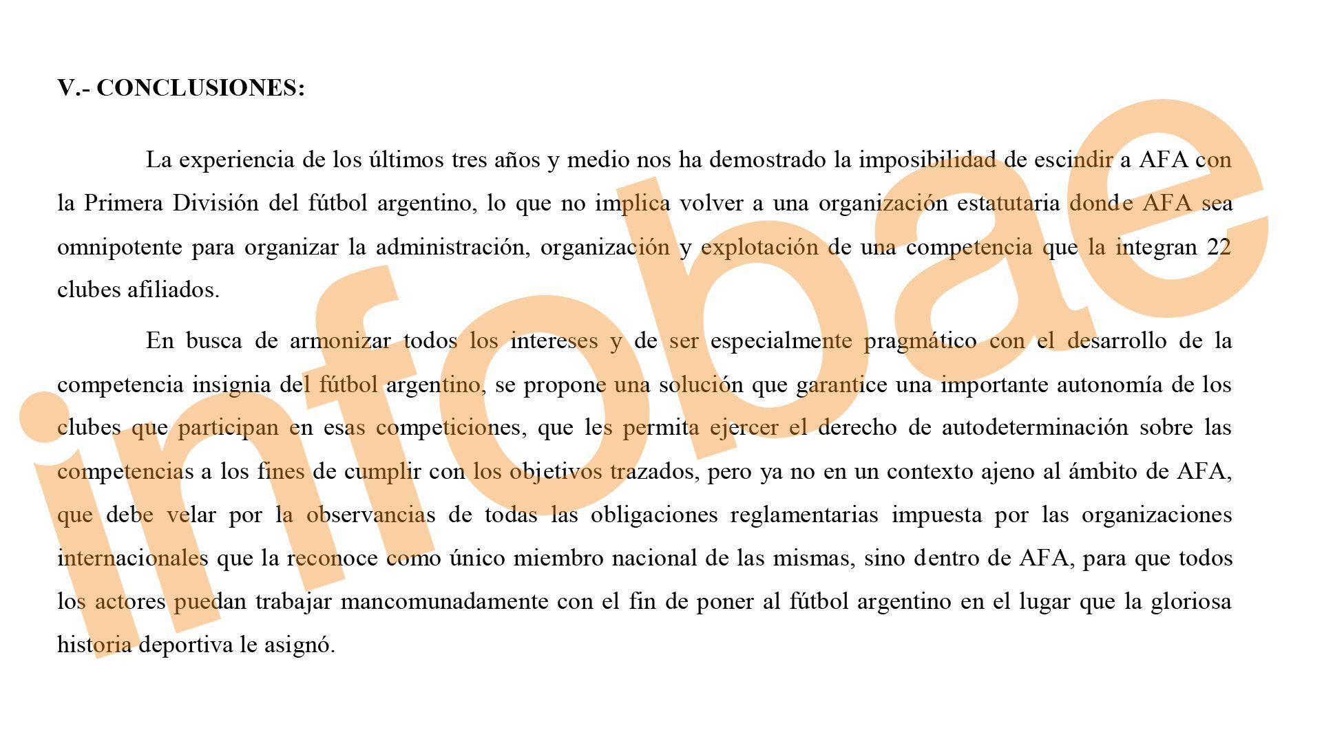 Parte del proyecto de la Liga Profesional del fútbol argentino que reemplazará a la Superliga actual