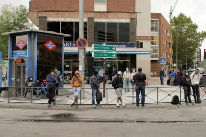 El sur de Madrid debió entrar en semiconfinamiento debido al crecimiento de los casos (REUTERS/Javier Barbancho)