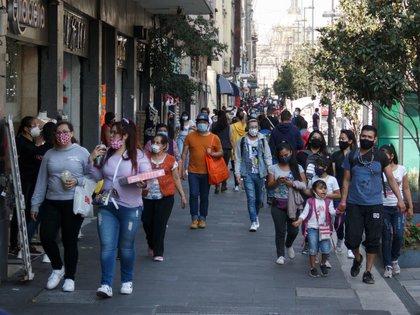 La afluencia de gente en el Centro histórico es lo que incentiva las ventas en la zona (Foto: Andrea Murcia / Cuartoscuro)