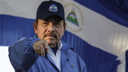 Daniel Ortega, el jefe del régimen de Nicaragua. La falta de libertades es cada vez más evidente en el país centroamericano (AFP)