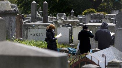Pese a que Nueva York ya no es el estado con un mayor número de contagios, sí sigue como el más golpeado en cuanto a muertos en Estados Unidos (EFE/Justin Lane/Archivo)
