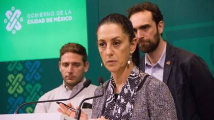 Claudia Sheinbaum, jefa de Gobierno de la Ciudad de México, anunció su plan para hacer una aplicación de taxis desde mediados de julio (Foto: Cuartoscuro)