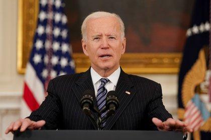El presidente de Estados Unidos, Joe Biden. REUTERS/Kevin Lamarque