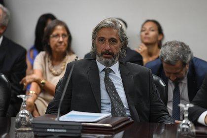 El abogado y consejero radical Juan Pablo Más Vélez pidió que el anteproyecto vuelva a Comisión para continuar su revisión (Maximiliano Luna)