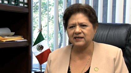 La legisladora admitió que construyó el camino pero en terrenos de su propiedad. (Foto: Televisa)