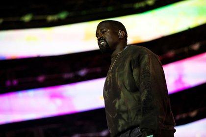El rapero estadounidense Kanye West. EFE/EPA/ETIENNE LAURENT/Archivo
