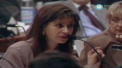 Cristina Fernández, otra de las convencionales