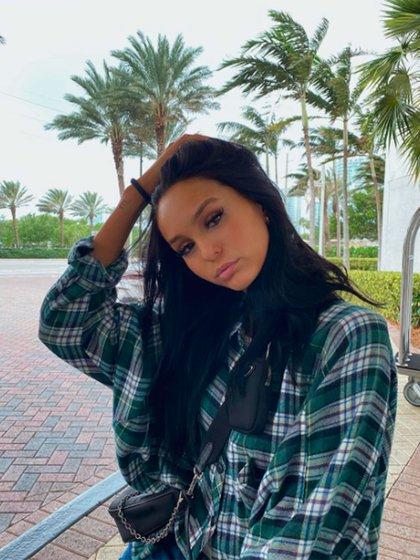 Juanita Tinelli publicó imágenes en sus redes sociales, sin especificar dónde se encontraba, pero fue su suegra quien contó que estaban en Miami