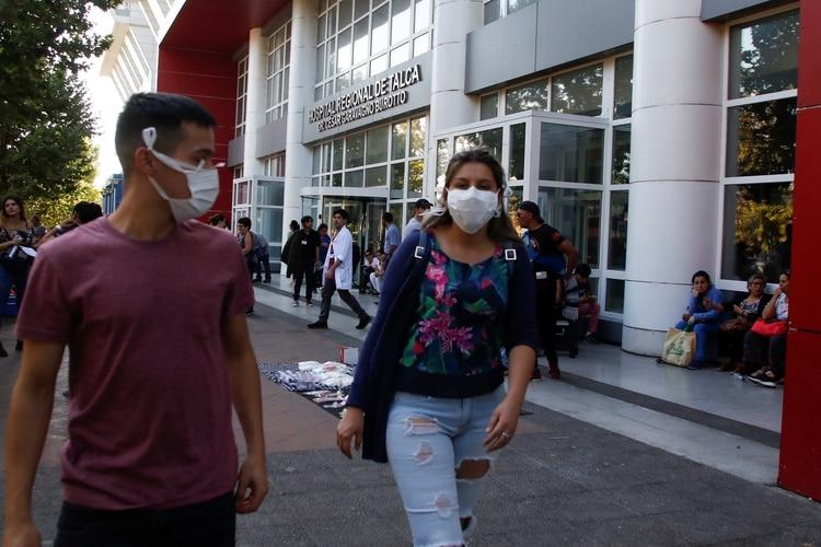 El primer paciente con coronavirus de Chile es de la localidad de Talca. REUTERS/Sebastian Martinez