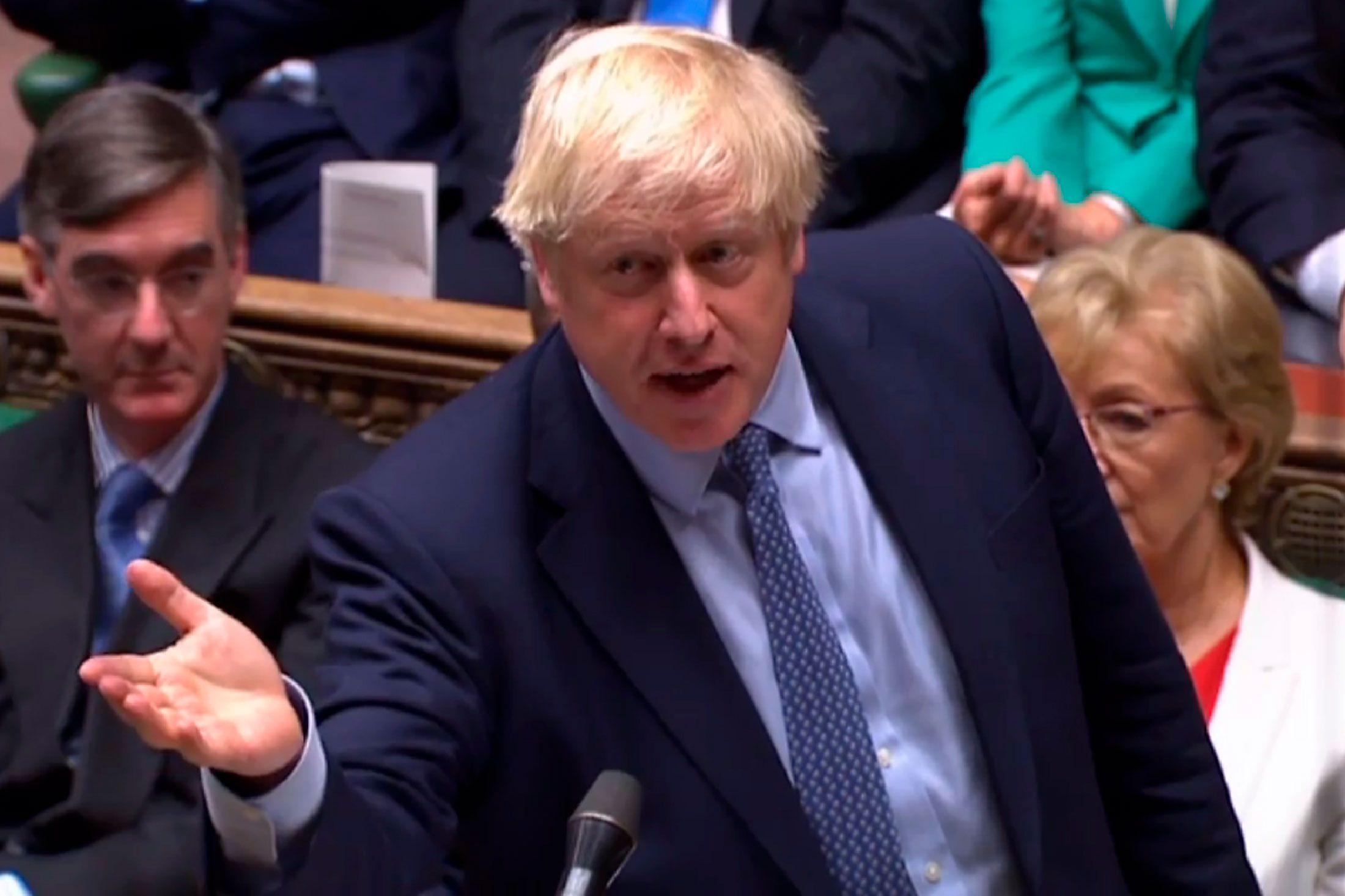 Boris Johnson está a un paso de lograr su objetivo: un Brexit sin una nueva prórroga. Pero depende de la aprobación del Parlamento (AFP)