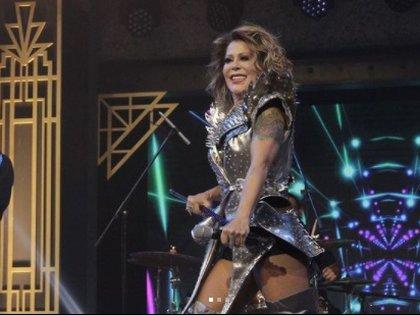 Estuvo hace unos meses en el especial de fin de año de TV Azteca (Foto: Instagram de Alejandra Guzmán)
