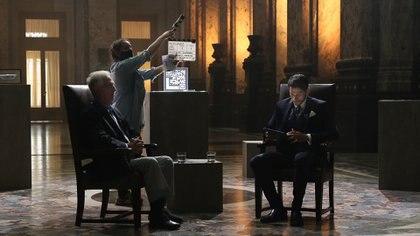 La entrevista se realizó en el Palacio Legislativo de Uruguay (El Legado TV)