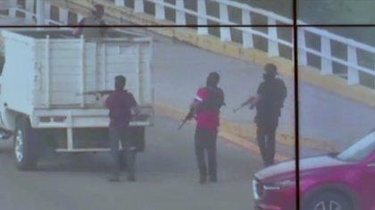 Los sicarios del Cártel de Sinaloa utilizaron una ametralladora Browning M2 (Foto: Noticieros Televisa)