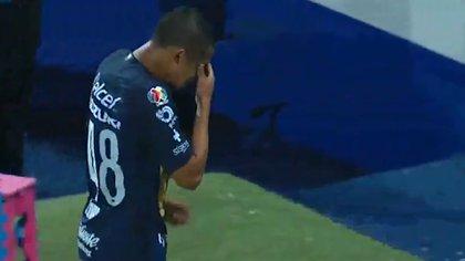 Así fue como salió el joven de 17 años, Jesús Rivas. (Foto: Captura de pantalla/Fox Sports)