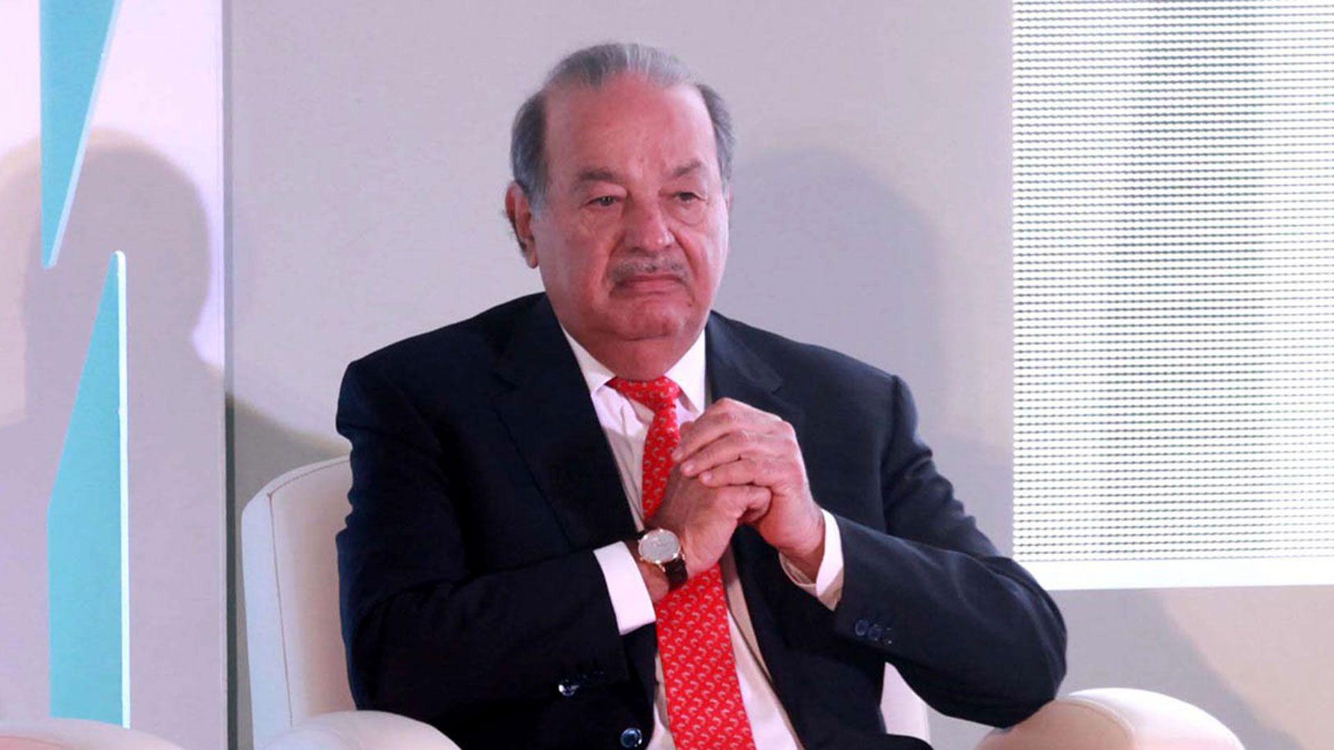 Carlos Slim es uno de los empresarios más ricos del mundo (Foto: Archivo)