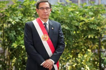 Foto de archivo del presidente de Peru, Martin Vizcarra, en una ceremonia en el palacio de gobierno en Lima.  Oct 3, 2019. REUTERS/Guadalupe Pardo