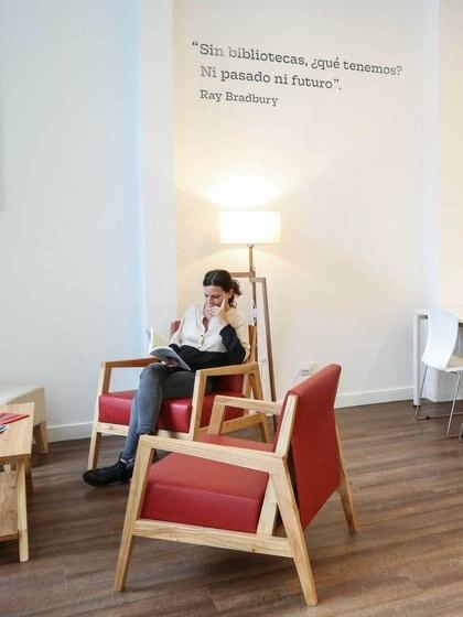 La biblioteca funciona desde el año 2007, sin embargo su reinauguración promete un espacio intelectual, moderno e integrador