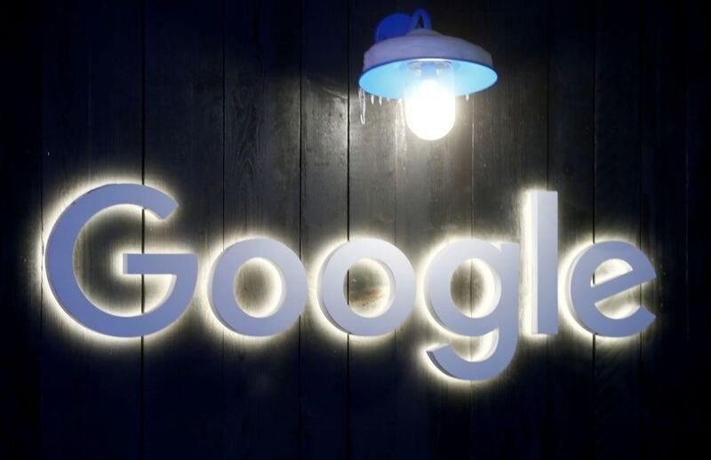Imagen de archivo del logo de Google en Davos, Suiza. 20 enero 2020. REUTERS/Arnd Wiegmann