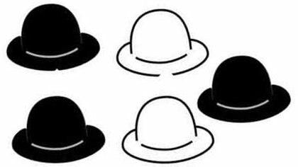 La solución del enigma de los sombreros es muy sencilla