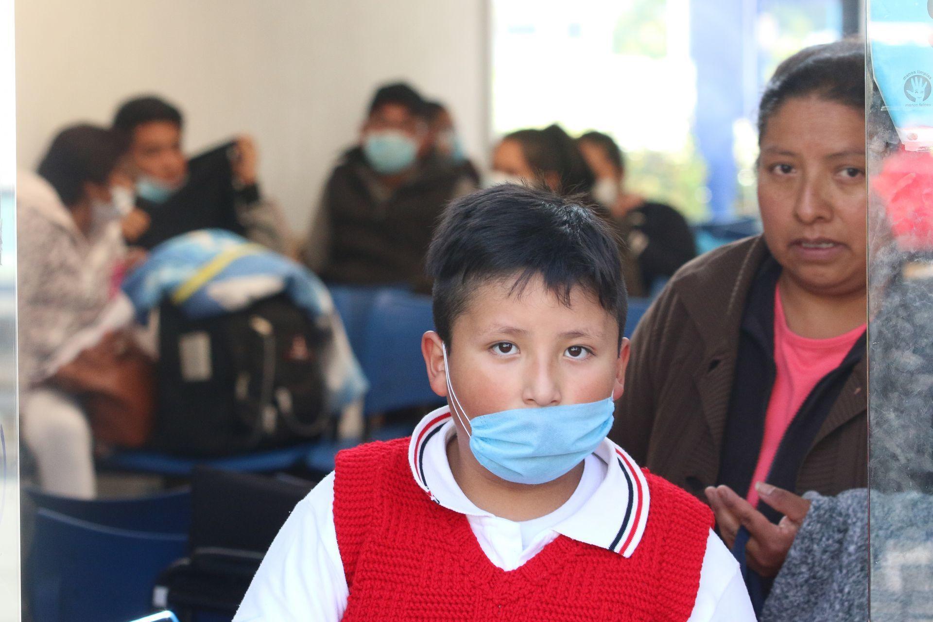 Pacientes  en el Instituto Nacional de Enfermedades Respiratorias, así mismo cinco (Foto: ROGELIO MORALES /CUARTOSCURO)